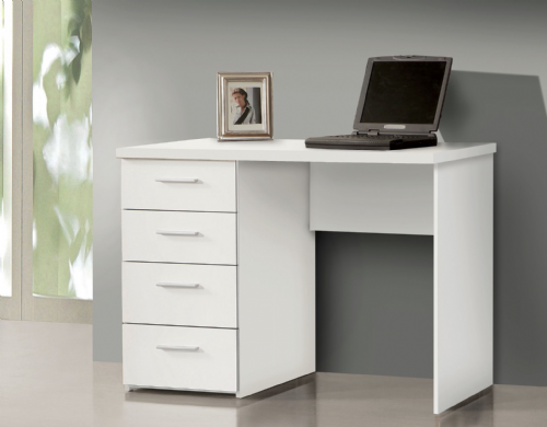 Pulton Compact White Computer Office Desk -  2679
